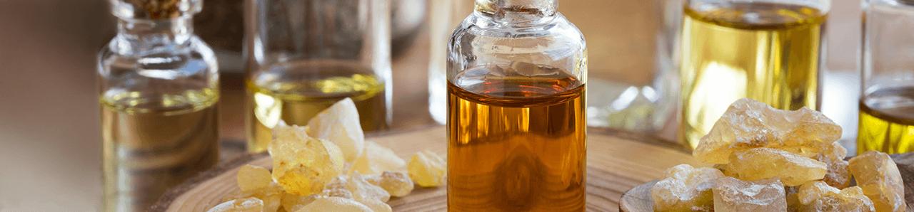 Weihrauchprodukte Harz und Öle
