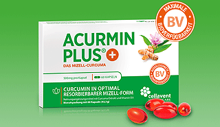 Acurmin PLUS - Das Mizell Kurkuma mit 185-facher Bioverfügbarkeit