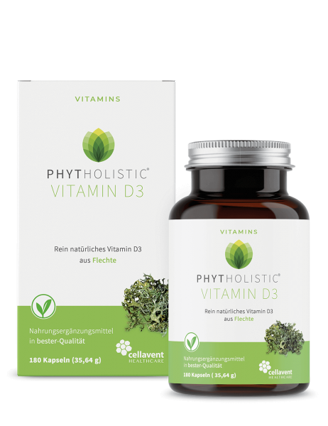 Vitamin D3 Kapseln-vegan 180 St.