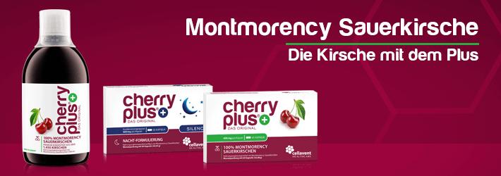 Cherry PLUS - Das Beste aus der Montmorency Sauerkirsche für Ihre Gesundheit!
