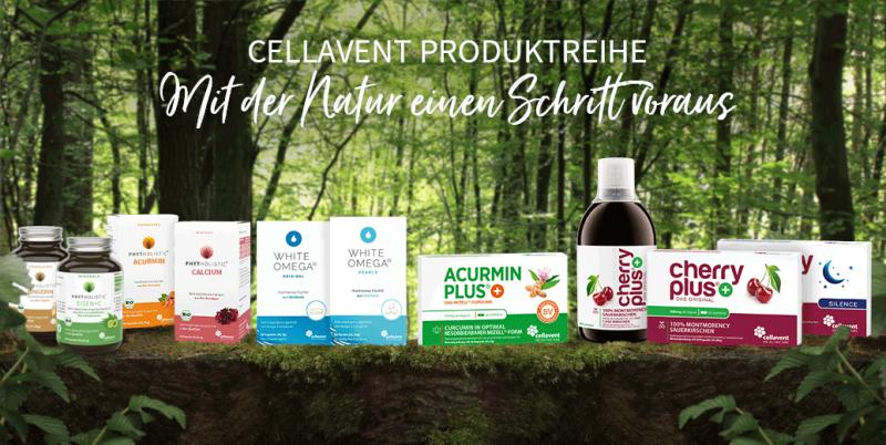 Natürliche Nahrungsergänzungsmittel von Cellavent Healthcare