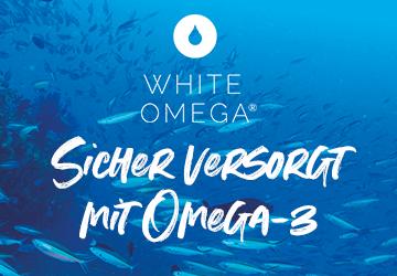 White Omega - Omega 3 Kapseln mit höchster Reinheit
