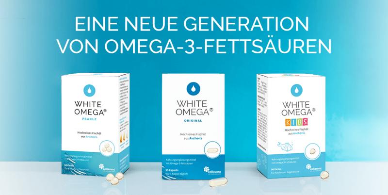 White Omega - Das reinste Omega-3 aller Zeiten!