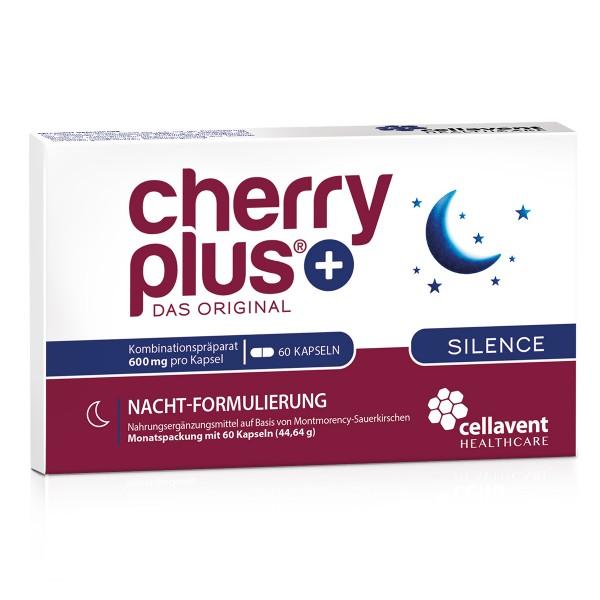 Cherry PLUS Silence - Montmorency Sauerkirsche Kapseln (60 Stück / 1 Monat) von Cellavent Healthcare